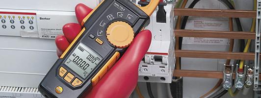 Вимірювання навантаження струмом електричних мереж. Випробування електрообладнання та заземлюючих пристроїв.